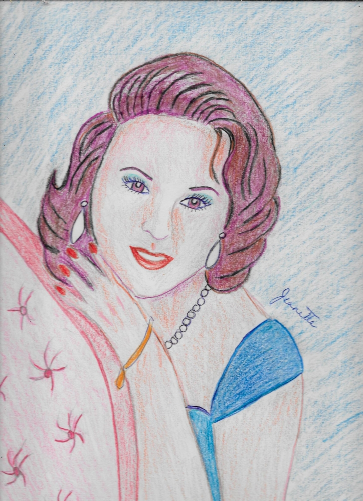 Susan Hayward by Jeanette